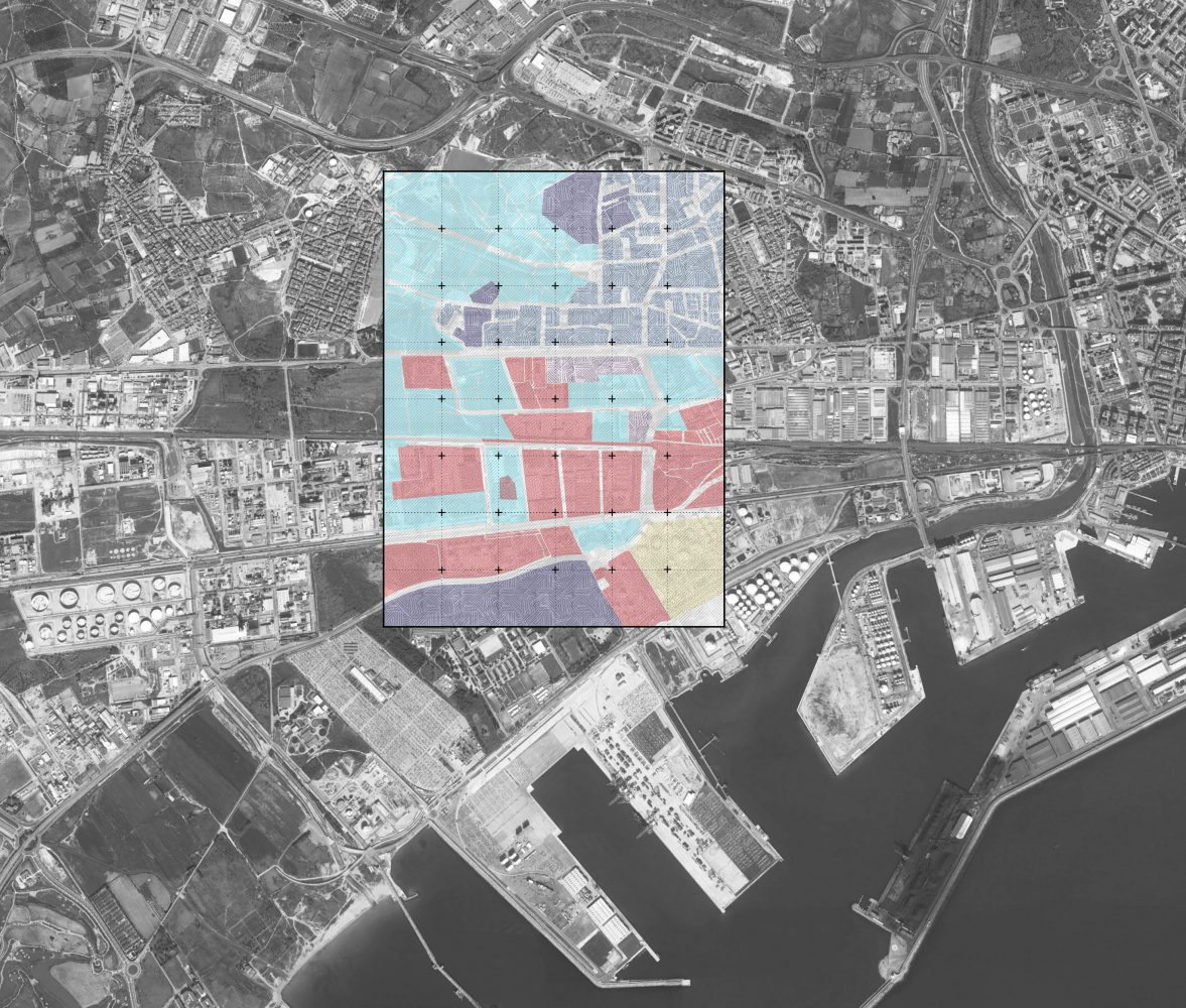 """This work offers a reflection on various paradigms of contemporary urbanism from both a practical and theoretical point of view. The designing potential of urban ecology, urban metabolism, resilience and long-lasting projects are examined in order to understand key elements of the topic we chose and their capacity for generating new urban shapes. Our topic is """"Brownfield regeneration"""" and it concerns the cleanup, the design, and the reuse of derelict land, such as the ones that surround Tarragona's port. Firstly, we tried to understand the meaning of brownfield and what its regeneration involves. We collected some data about the levels of micropollutants in the petrochemical area of Tarragona. One of the most important industrial complexes in Southern Europe is located in Tarragona County (Catalonia, Spain). The zone is characterized by numerous potentially pollutant industrial sources, such as a big oil refinery, a chloralkali plant, several plastic- manufacture chemical companies, a hazardous waste Incinerator (HWI), and a municipal solid waste incinerator (MSWI). In addition, the concurrent traffic density is really relevant, with an important highway and several motorways in this area. The industrial sector is located near to various inhabited suburbs and close to Tarragona City downtown. The presence of this chemical/petrochemical complex, together with the knowledge of increasing pollution in metropolitan areas, has been for many years a reason of concern for the local population. We made an analysis of the territory, including both the vacant lands and the built ones (residencial, commercial, etc.). According to our opinion a 21st century approach to social responsibility is the issue of remediation. This work questions how this issue can be engaged with to better understand sites of degeneration and misinterpretation, and reappropriate these places in Tarragona in a meaningful way that regenerates the site and enables the public to use these spaces.  Our wor"""